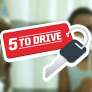 5 to drive teen teenage drivers distracted driving phone text social media