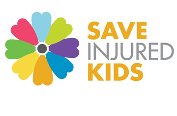 Save injured kids logo