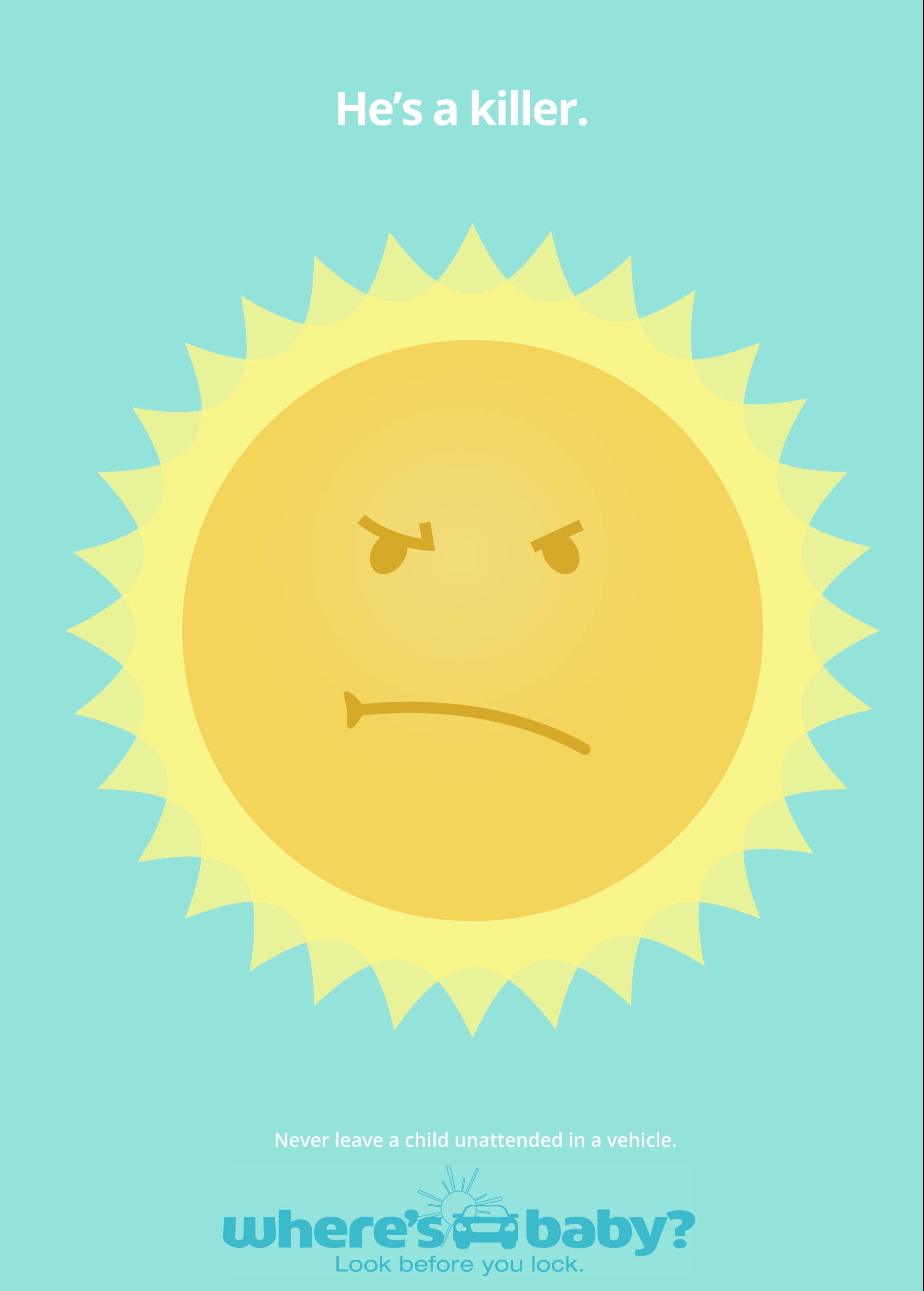 heatstroke NHTSA sun stroke heat pediatric trauma where's baby