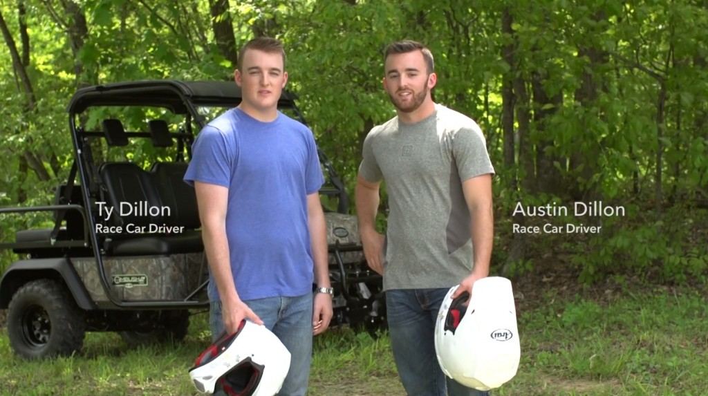 ATV Safety Austin Dillon Ty Dillon NASCAR
