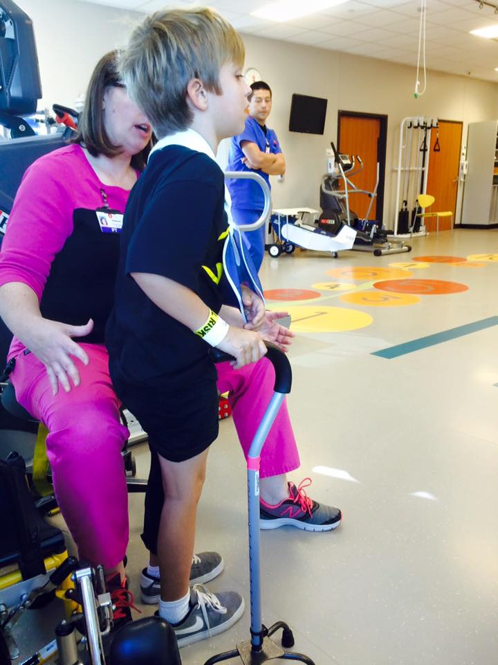 BB pediatric trauma survivor traumatic brain injury TBI recovery story