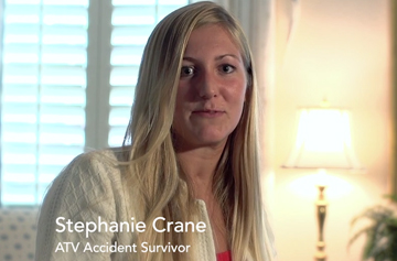 Stephanie Crane ATV accident survivor
