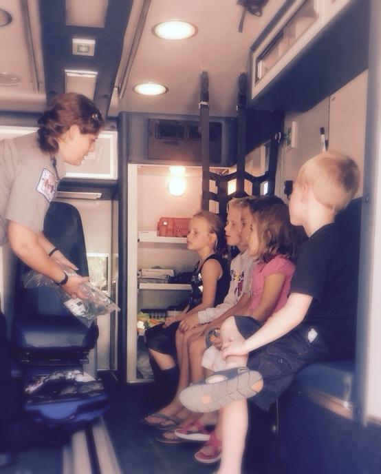 ems emergency medical services world expo ambulance scholarship freya whelen education