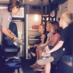 freya whalen EMS blog story emergency medical services ambulance kid children