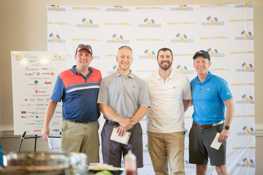 save injured kids golf classic players